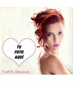Fotomontaje con Scarlett Johansson