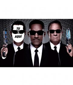 Fotomontaje con los agentes de Men in Black para poner tu cara