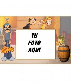 Marco para fotos de El Chavo Animado