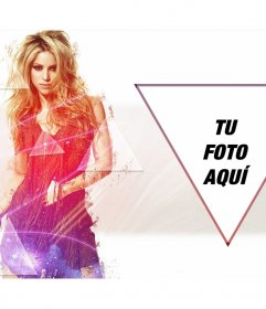 Fotomontaje para poner tu foto al lado de Shakira