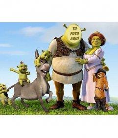 Transfórmate en Shrek colocando tu cara en su cuerpo online