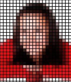 Filtro para fotos que añade una trama de puntos negros a tus fotos, aplicando un efecto muy vistoso