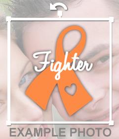 Cinta naranja para los luchadores contra la Leucemia