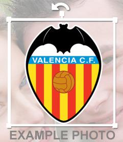Foto efecto del escudo del Valencia CF para poner en tu foto