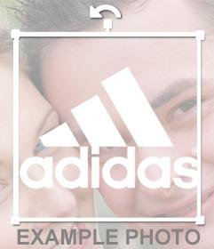 Logo de Adidas Sport para añadir en tus fotos gratuitamente