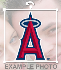 Logo del equipo Los Angeles Angels of Anaheim para poner en tus fotos