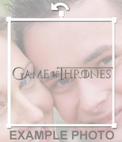 Logo de Game of Thrones para poner en tus fotos gratis