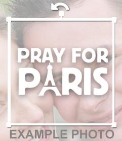 Solidarízate con Paris con éste Sticker de Pray for Paris