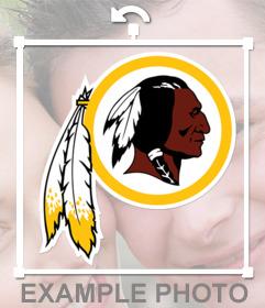Logo gratis del equipo Washington Redskins de la NFL