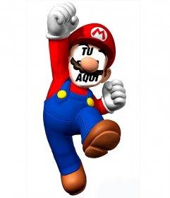 Fotomontaje para poner tu cara en Super Mario y diviértete