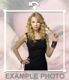 Fotomontaje para poner a Taylor Swift en tu foto online