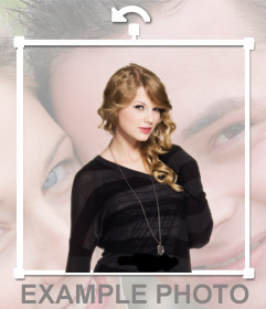 Pon a Taylor Swift en tus fotos con este sticker gratis
