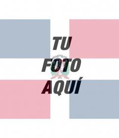 Poner la bandera de la República Dominicana junto con tu foto