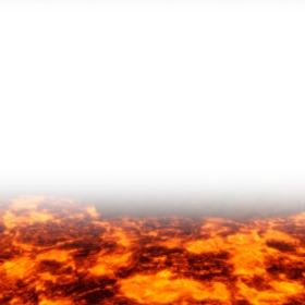 Marco para fotos de El suelo es lava