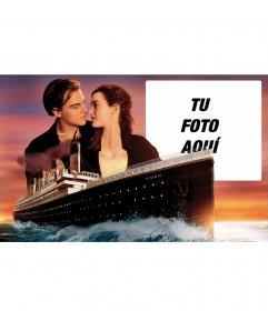 Marco para fotos de Titanic