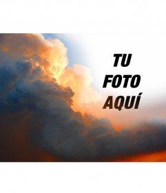 Fotomontaje especial con nubes