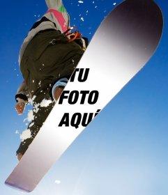 Personaliza esta tabla de snow con la foto que tu quieras
