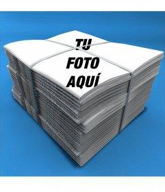 Fotomontaje para poner tu foto en la portada de un periódico