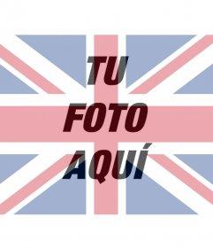 Filtro de la bandera del Reino Unido para tu foto