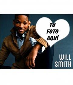 Collage de Will Smith con tu foto