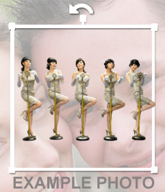 Pegatina de Wonder Girls