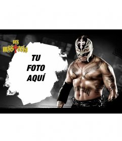 Fotomontaje con el Rey Mysterio