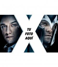 Poster de X-Men con tu foto