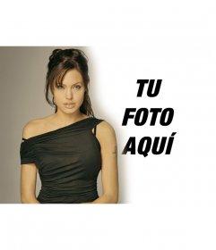 Fotomontaje con  Angelina Jolie para aparecer a su lado