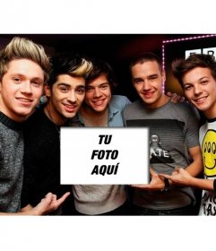 Fotomontajes online con el grupo One Direction
