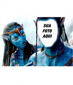 Fotomontagem para se tornar o Avatar de Navi