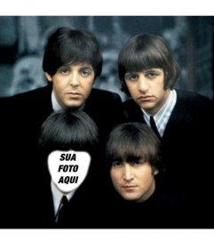 Com este efeito on-line você vai aparecer como um dos Beatles