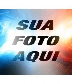 Red on-line e filtro de luz azul para editar sua foto