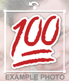 Par adesivos appose 100 pontos em uma imagem e dizer o melhor ou o melhor