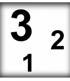 Colagem de colocar três fotos em cima uns dos outros e livre fotomontagem
