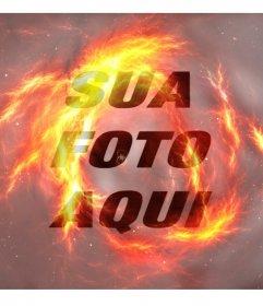 Fogo de filtro para as suas fotos fiquem como fogo