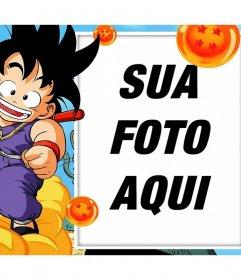 Fotomontagens e quadros com Son Goku