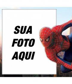 Spiderman Foto efeito para editar com a sua imagem