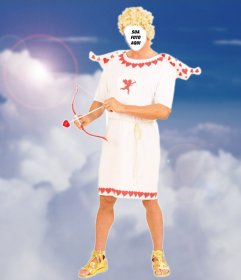 Carregue sua foto e se vestir como o Cupido com este efeito