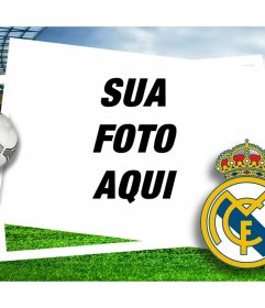 Real Madrid escudo para adicionar às suas fotos
