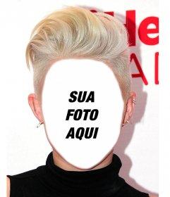 Fotomontagem para ter o penteado de Miley Cyrus e