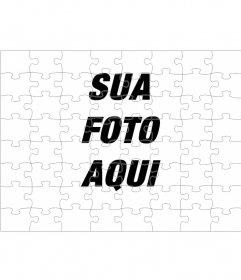 Fotomontagem para transformar sua foto em um quebra-cabeça