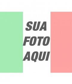 Bandeira de Itália montagens fotográficas online