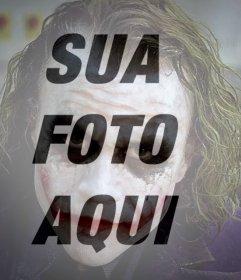 Joker filtro para sua foto online
