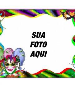 Photo frame Carnival para personalizar online