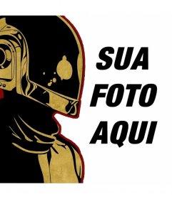 Ilustração Fotomontagem por Daft Punk