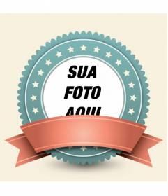 O quadro da foto para decorar suas fotos com um estilo retro