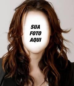 Fotomontagem para tirar o penteado Kristen Stewart e alterar a aparência