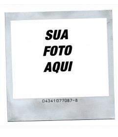 Moldura para fotos estilo polaroid