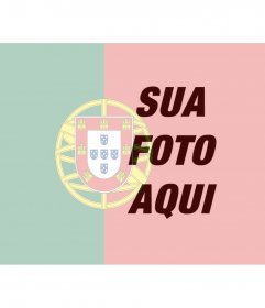 Bandeira de Portugal para colocar na sua foto de perfil