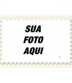 Faça um selo a partir de uma foto, fotomontagem online